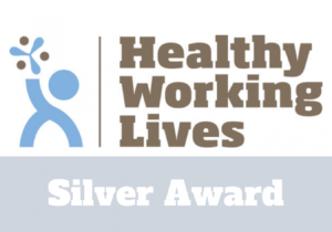 QueryClick awarded healthy working lives silver award