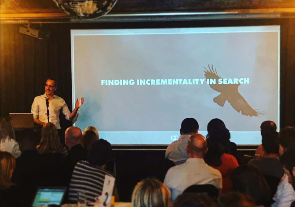 Search Masterclassing Finding Incrementality in Search