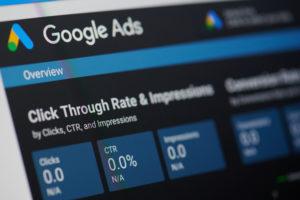 Header image showing Google Ads dashboard